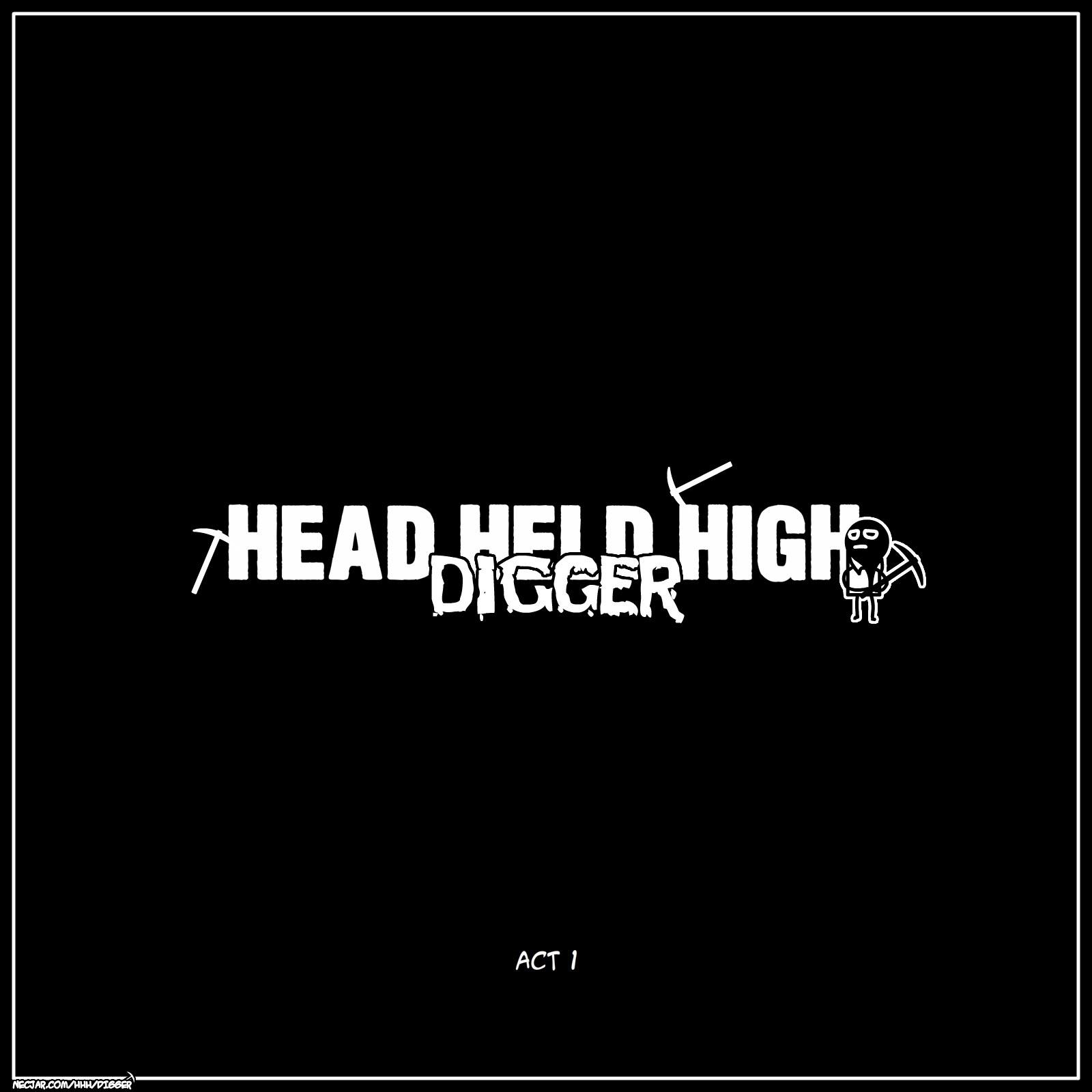 Head Held High: Digger, Digby, Digger, comics, HHH, Head Held High, Head Held High: Digger, Высоко Поднятая Голова